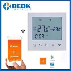 Beok TDS21 wifi-EP wifi функция термостат белый задний свет умный регулятор температуры