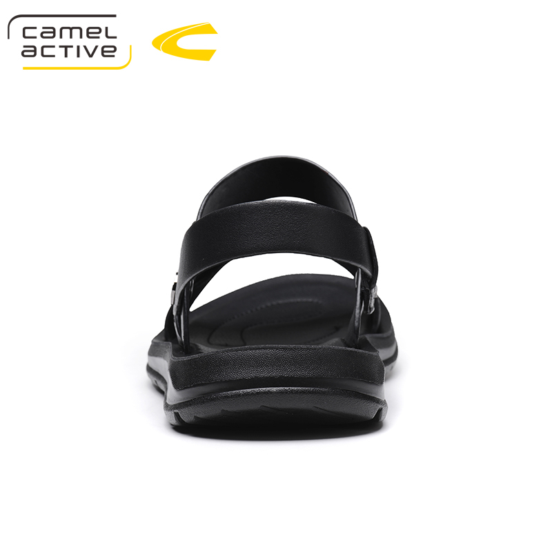 Camel Active Brand Summer Casual Male Sandals For Men Shoes Genuine Leather Quality Walking Beach Comfortable Designer Sandals 5