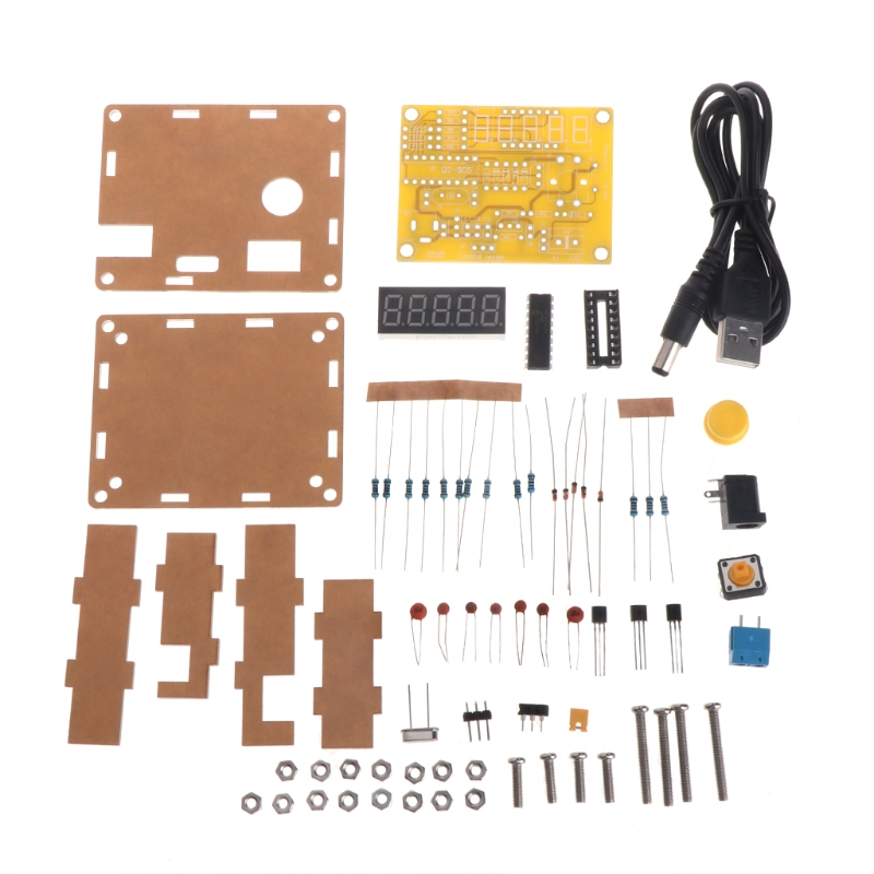 Kits de bricolage 1Hz-50MHz cristal oscillateur testeur compteur de fréquence avec étui