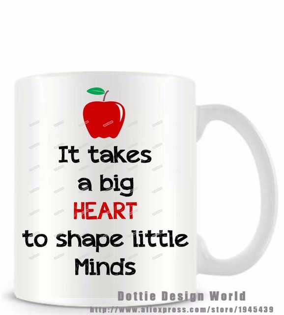 It takes a big heart to shape little minds funny novelty travel mug it takes a big heart to shape little minds funny novelty travel mug white coffee tea negle Image collections