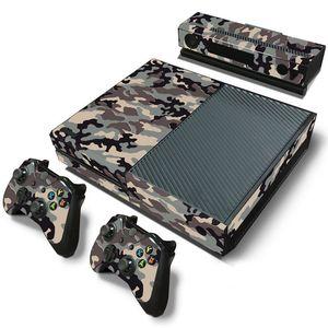 Image 5 - Camuflaje Game Cosole pegatinas de piel Calcomanía para Xbox One Console piel de vinilo + 2 uds pegatinas del controlador