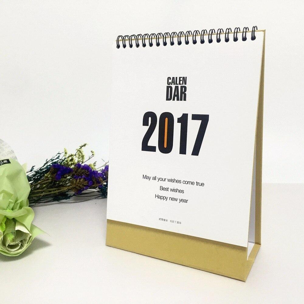 Neue Mode Tischkalender Freies Kundenspezifisches Design Und Logo Auf Kalender Office & School Supplies