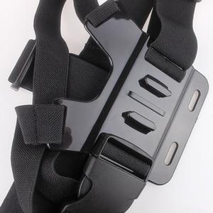 Image 3 - Shoulder Chest Belt Strap Mount For Go pro Accessories SJ4000 Accessories Go pro Hero HD Hero 1 2 3 3+ 4 Outdoor Action Camera