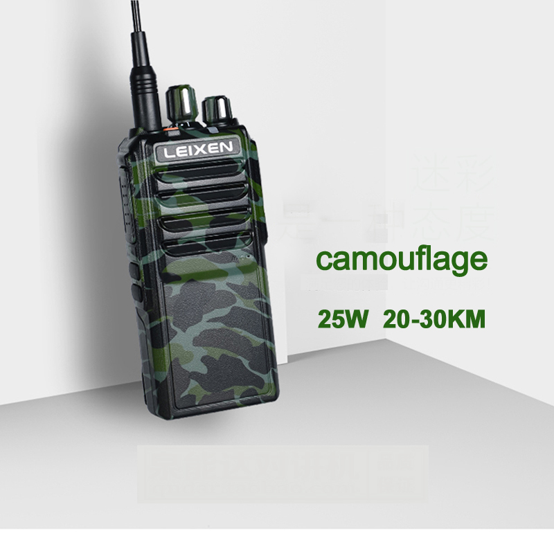 Image 3 - High Power LEIXEN VV 25  25watts long range walkie talkie  with 12.6V 4000mAh battery-in Walkie Talkie from Cellphones & Telecommunications