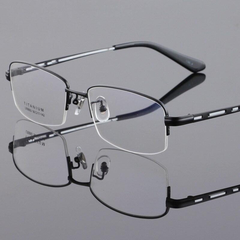 Vazrobe Titan Brillengestell Männer Gold Brillen Rahmen für Mann ...
