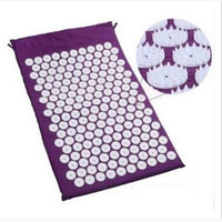 ABS Spike Acupressure Mat Massage Cushion Shakti Mat Before Or After Yoga Relieve Pain Improve Sleep
