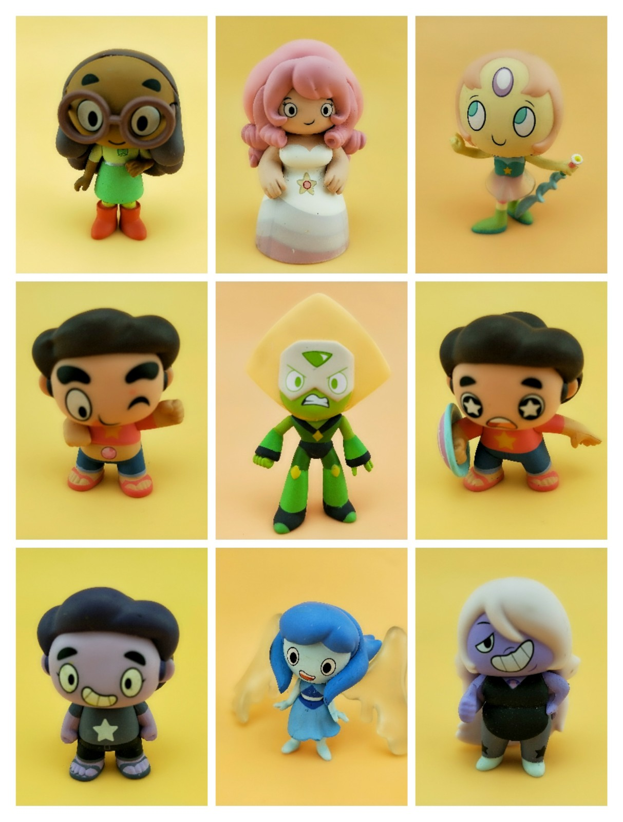 Original Secondhand Funko Mystery Minis: Steven Universe Vinyl Collectible Action Figure Model Loose Toy No Box