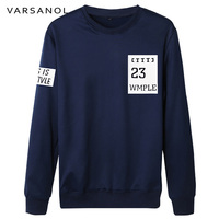 Varsanol Brand Clothing New Arrivals Long Sleeve Sweatshirt Mens Casual Slim Pullovers Coat O Neck Outerwear
