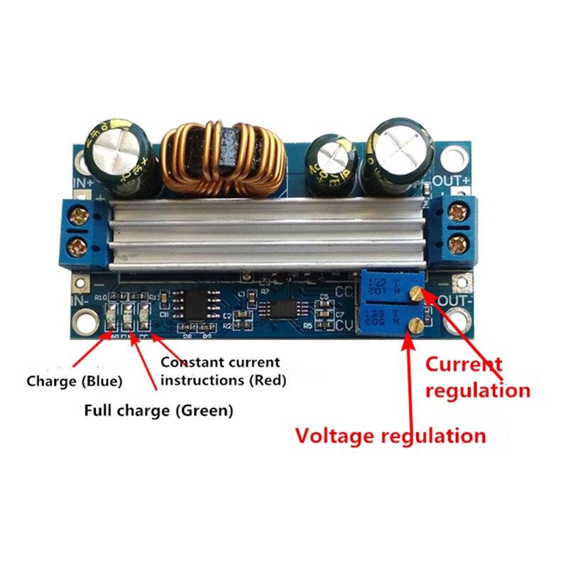 5 30 в до 0,5 30 в Регулируемый повышающий/понижающий модуль питания постоянное напряжение постоянный ток Buck Booster Charge Module constant current step upstep down voltage   АлиЭкспресс