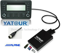 Yatour Digital Music Car Audio USB Adapter MP3 AUX Bluetooth for Alpine M bus and Honda/Acura 92 97 CDC interface CD Changer