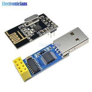CH340T USB к адаптер последовательного порта доска + 2, 4 г антенны NRF24L01 + Беспроводной модуля 125 Каналы Mutipoint микроконтроллер для Arduino