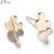 Jisensp Stainless Steel Mickey Stud Earrings for Women Girls Kid Gift Cartoon Animal Mouse Earrings Everyday Jewelry orecchini