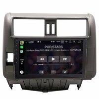 9 Android 8.0 Quad Core Car GPS Navigation System For Toyota Land Cruiser Prado 2010~2013 Car Radio WIFI Map