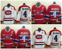 check out 3552f f3622 inexpensive montreal canadiens 4 jean beliveau white ccm ...