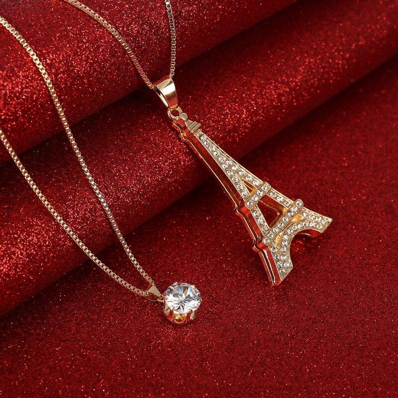 Hesiod Fashion Boutique Romantic Paris Love Eiffel Tower Crystal ...