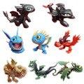 Дракон два дракона Ночь без зубов маленькие Пластиковые куклы руки делают игрушки для детей