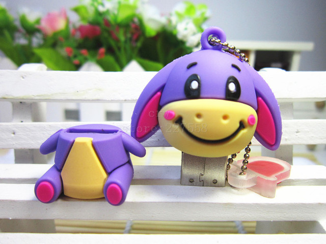 Cute animal Disk pendrive 8GB/16GB/32GB/64GB