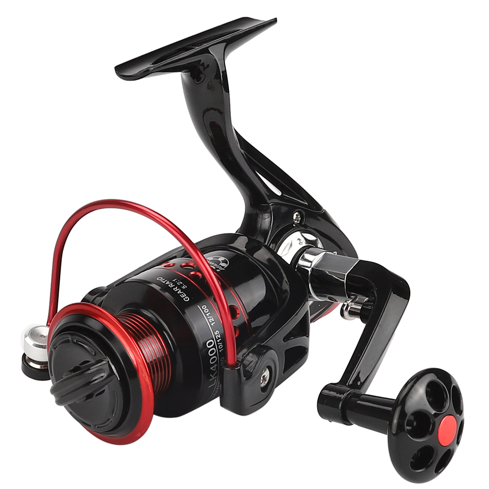 Metall Spule Spinning Angeln Reel 13 Ball Lager 2000-7000 Serie Spinning Reel 5,2: 1 boot Felsen Angelrollen angelgerät