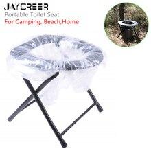 JayCreer комфортное кресло портативное сиденье для унитаза для кемпинга, пляжа, альпинизма и многого другого-Складное Сиденье для унитаза