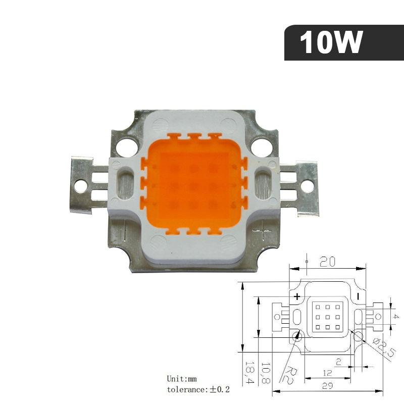 Levou Crescer Luzes hidropônico 1 w/3 w 10 Material do Corpo : Alumínio