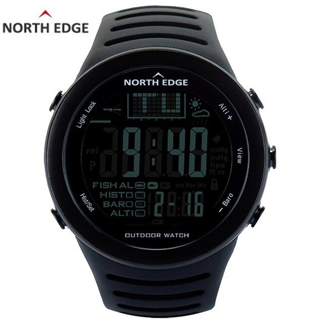 Relogio Masculino Северная режущая кромка для мужчин Спорт умные цифровые часы водостойкий открытый высотомер часы Рыбалка термометр восхождение часов