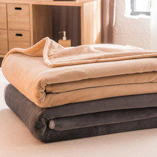 Large Coral fleece blanket Bed Cover Bedding soft sheets Microfiber Air-Conditioned gift Throw on sofa For home travel Sofa