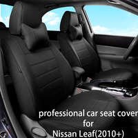 Legua Car Seat Cover Set for Nissan Leaf(2010+) Water proof Interior Accessories Car Seat Protector Car Styling Seat for Auto