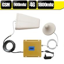 GSM 900 4G LTE 1800 amplificateur de Signal double bande 900mhz 1800mhz répéteur Mobile cellulaire pour téléphone portable
