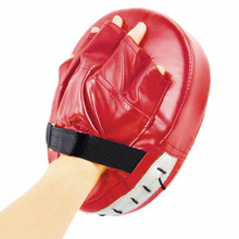 b0fa32b91 Preto vermelho luvas de boxe almofadas para muay thai kick boxe mma  treinamento pu espuma boxer alvo pad