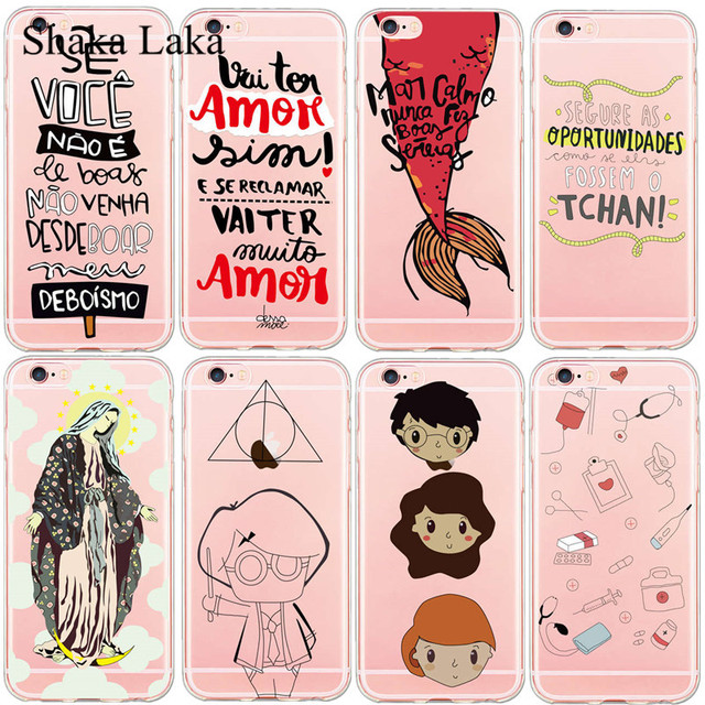 Shaka Laka Portuguese Words Phone Case Design Cover Case For Iphone