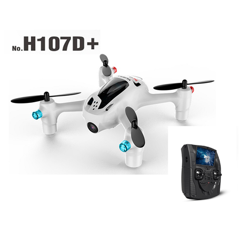 Hubsan X4 H107D+ Plus with 720P HD Camera 6-axis Gyro FPV RC Quadcopter Altitude Hold Function RTF hubsan x4 camera plus h107d 520mah battery