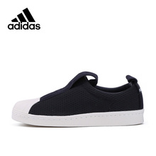 Intersport New Arrival Originals Official Adidas Superstar Slip On Breathable Women's Skateboarding Shoes Sports Sneakers