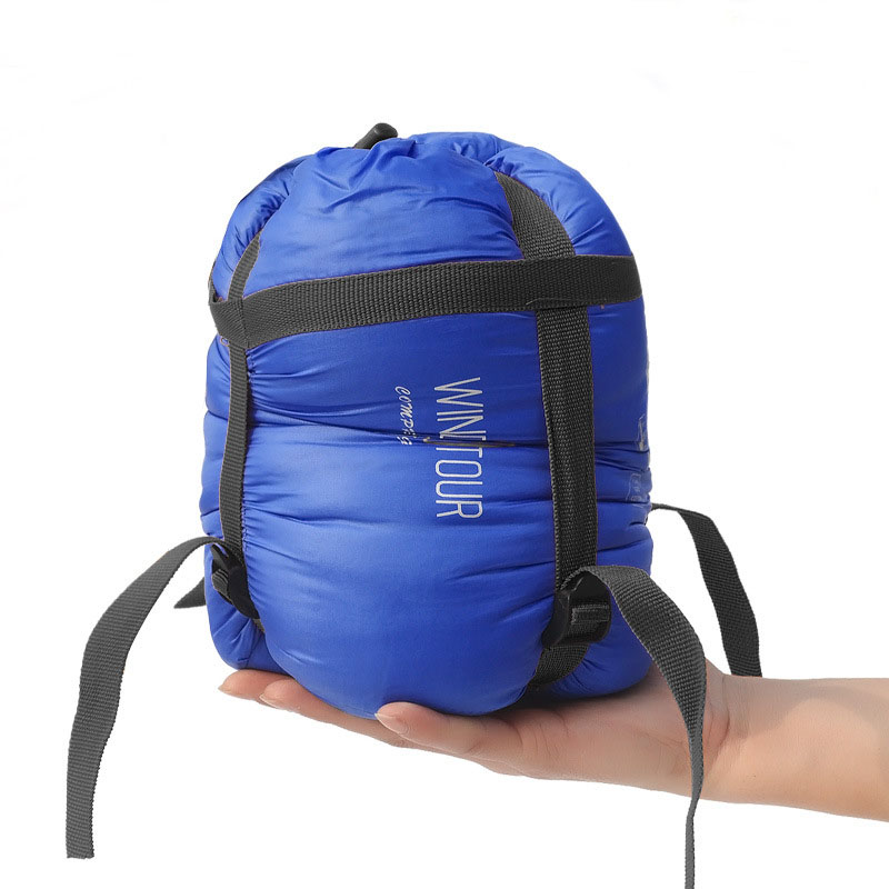 Outdoor Ultra Light Adult Portable Camping Hiking Bags Sleeping Bags Spring Autumn lazy bag Splicing Sleeping Bag