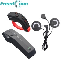 FreedConn COLO RC Motorcycle Helmet Bluetooth Intercom Headset NFC FM Function With Soft Earphone+Remote Control