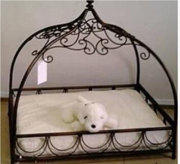 European Princess Wrought Iron Pet Beds Litter