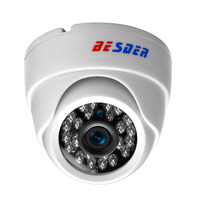 BESDER Wide Angle Wire&Wireless IP Camera 1080P 960P 720P  Night Vision Home Security Wifi Camera AP Mode with 64G TF Card Slot Surveillance Cameras