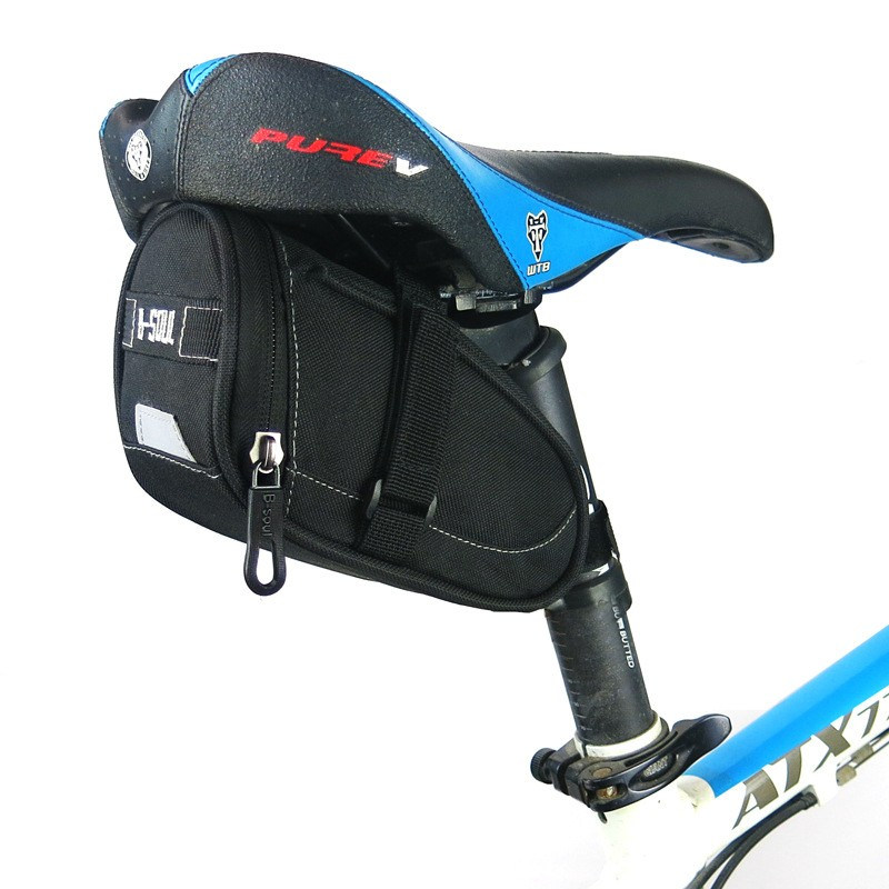 цена на Waterproof Bicycle Rear Tail Seat Bag Mountain Road Bike Riding Cycle Saddle Bag Outdoor Bicycle Pannier Seatpost Pouch 3Colors