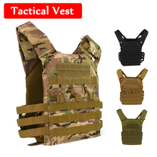 JPC Military Plate Carrier Tactical Vest Men Hunting Airsoft Paintball Gear Protective Vest Army Combat Training Vest недорого