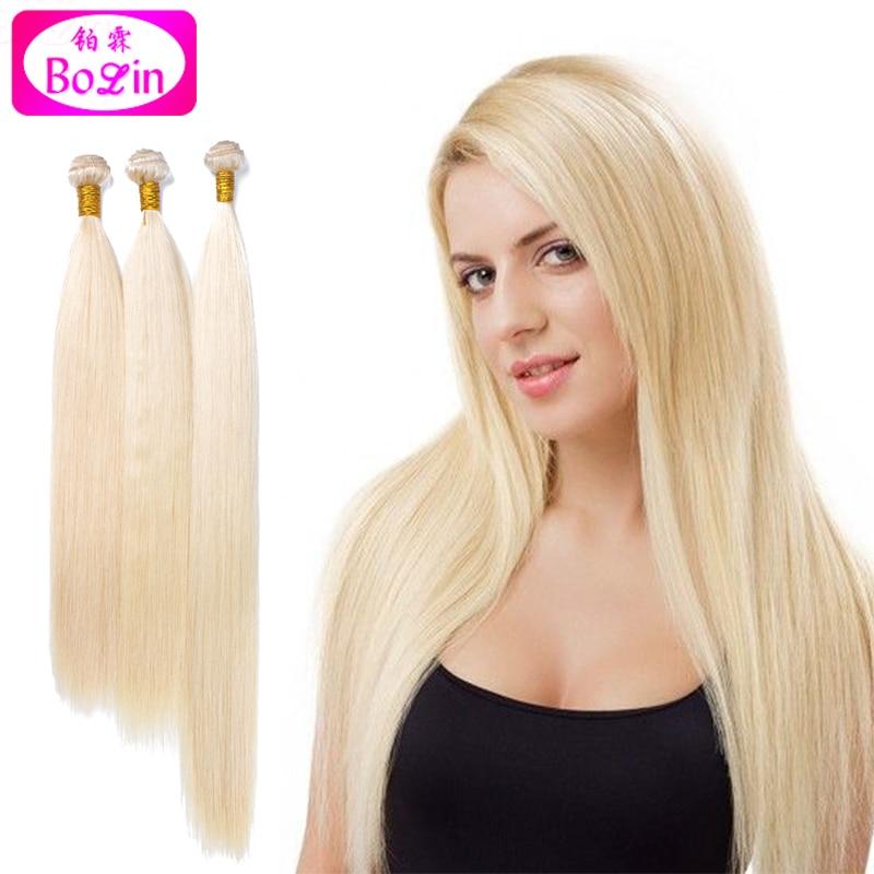 Cheap Fast shipping 8A 613 Blonde Human Hair Weaves Straight Hair Bundles Brazilian  Virgin Human Hair Extensions for White Women b71267e731