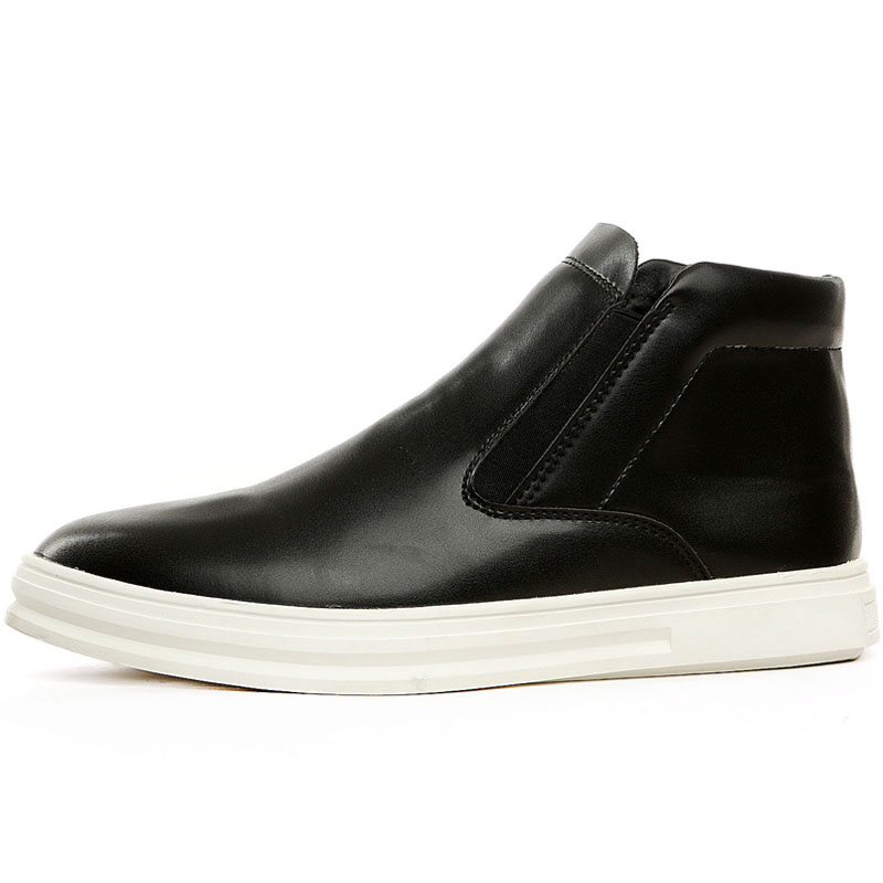 Caliente Fahsion Alta Zapatos Marca Leather De Botas Más Calidad Trabajo Esencial Invierno 2017 Mantener Hombres Cuero Casual suede Nuevo z6Aqca1a0T
