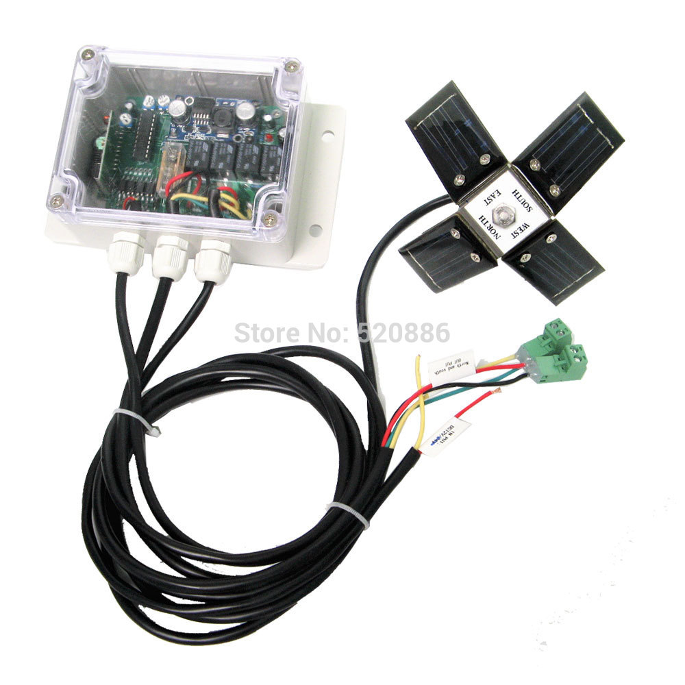 Eco Solar Panel Tracking System Dc Power Solar Controller