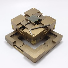 90 мм алюминиевый сплав BGA станция BGA Reball комплект магнитный замок 10 шт. 90 мм Универсальный Bga трафарет 9 шт. BGA припой шар