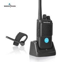 מכשיר הקשר Bluetooth מכשיר הקשר נטען 2 Way רדיו UHF 400-470MHz נייד רדיו 16CH אוזניות האלחוטית Bluetooth עם האפרכסת HB4 (3)