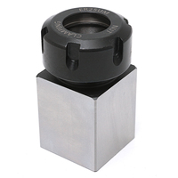 Hard Steel ER 25 Square Collet Chuck Block Holder 3900 5123 With High Hardness For Lathe