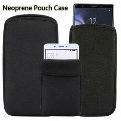 На Алиэкспресс купить чехол для смартфона black elastic soft flexible neoprene protective pouch bag for vernee m3 m8 pro protect sleeves pouch case for vernee v2pro t3por