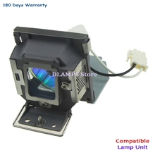 5J. j0A05.001 תואם מנורת מקרן עם דיור לbenq MP515/MP525/MP515S/MP525ST/MP526/MP515ST