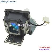 5j. j0a05.001 benq mp515/mp525/mp515s/mp525st/mp526/mp515st 용 하우징이있는 호환 프로젝터 램프