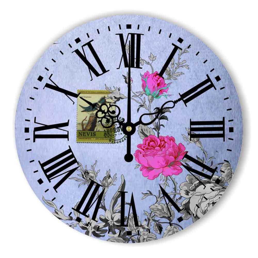 Decoración Del dormitorio Más Silencioso Reloj de Pared Moderno ...