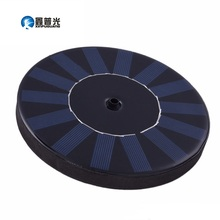 Xinpuguang 1.4W 7V Solar Panel Water Pump Floating for 6V System Garden Plants Watering Power Fountain Pool Automatical Tool