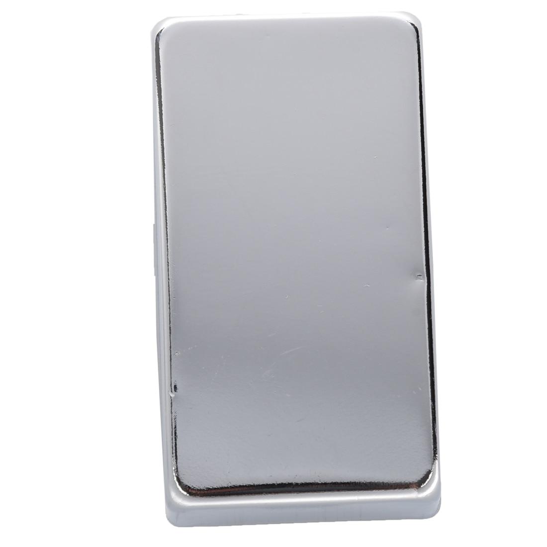 8X уплотнения Humbucker Пикап Обложка для электрической Гитары хромированные Медь 19 мм